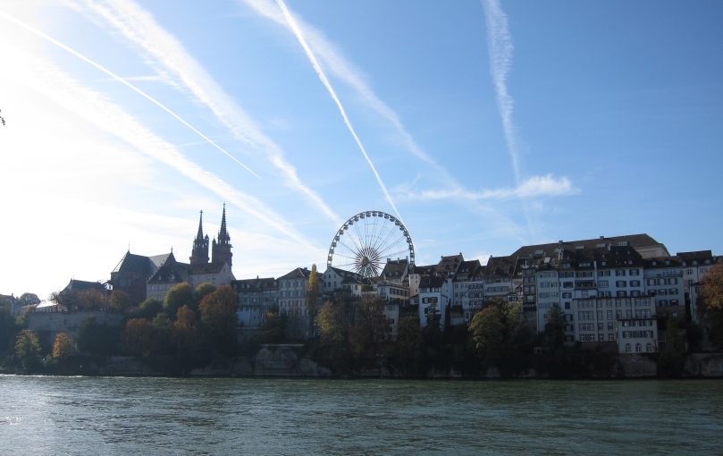 It ain't autumn in Basel until the you see the Ferris wheel up in Münsterplatz.
