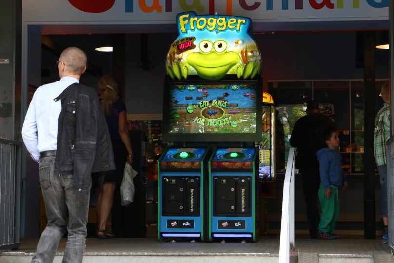 Frogger! Yes, I'm that old.
