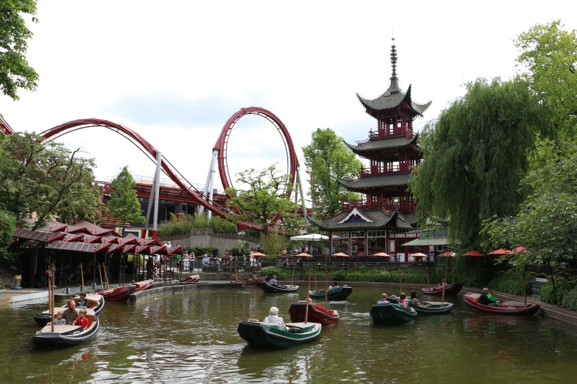 Tivoli is at once an amusement park and a garden.