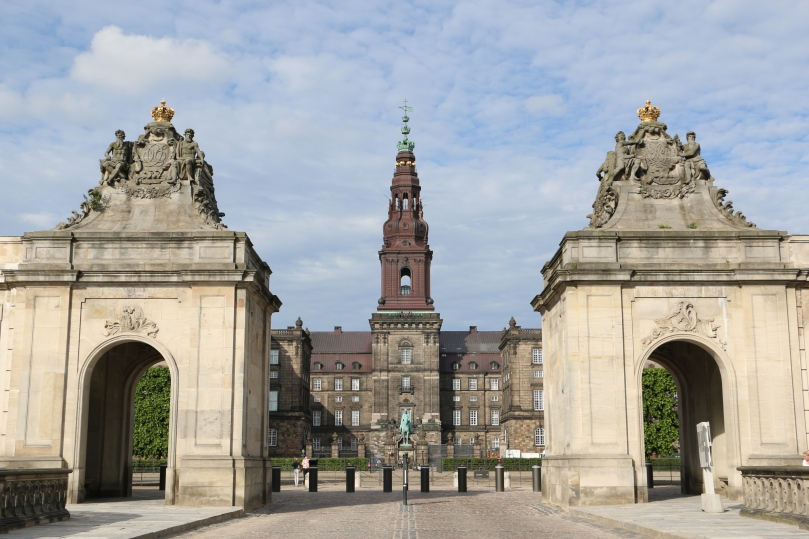 Christianborg Slot.
